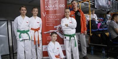 Otwarte Klubowe Mistrzostwa Europy oraz V Puchar Dzieci w Karate Tradycyjnym