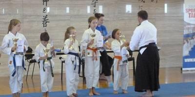 """""""Sportowy Talent"""" szansą najmłodszych zawodników karate"""