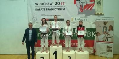 Wratislavia Cup Międzynarodowy Turniej dla Dzieci i Młodzieży w Karate Tradycyjnym.
