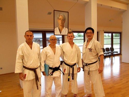 Gasshuku 2014, Międzynarodowy Kurs ITKF – International Summer Camp