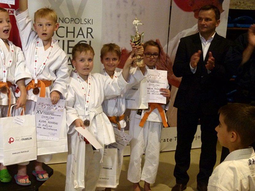 XV Ogólnopolski Puchar Dzieci w Karate Tradycyjnym
